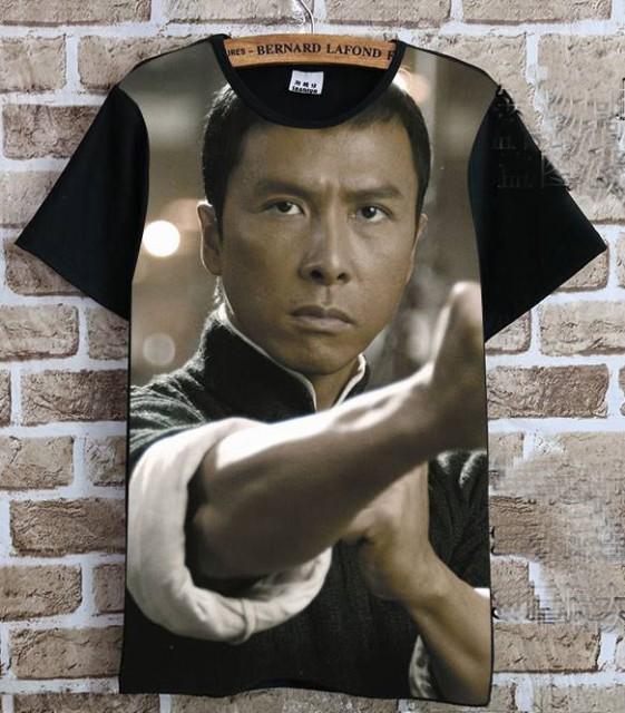ドニー・イェン(甄子丹)   Tシャツ 黒2
