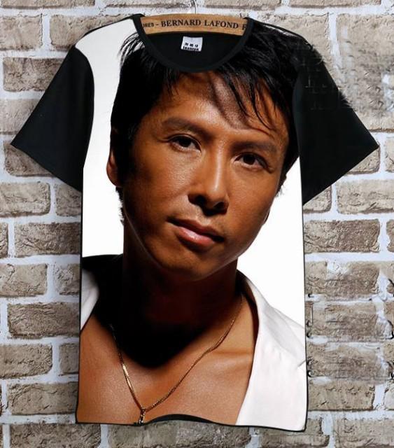 ドニー・イェン(甄子丹)   Tシャツ 黒3