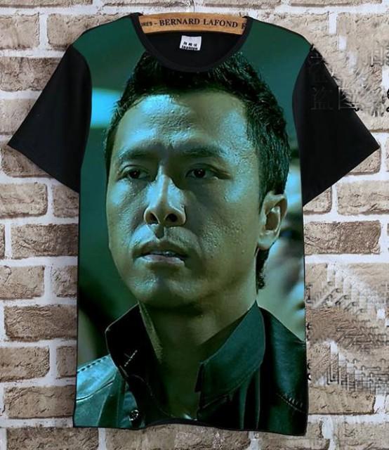 ドニー・イェン(甄子丹)   Tシャツ 黒4