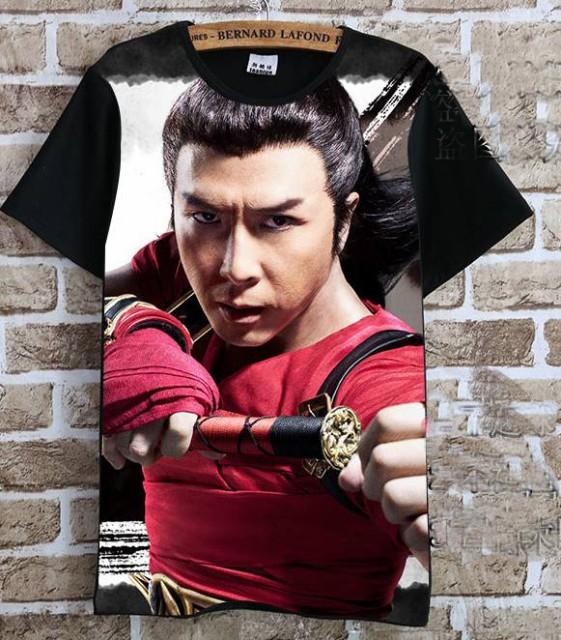 ドニー・イェン(甄子丹)   Tシャツ 黒5