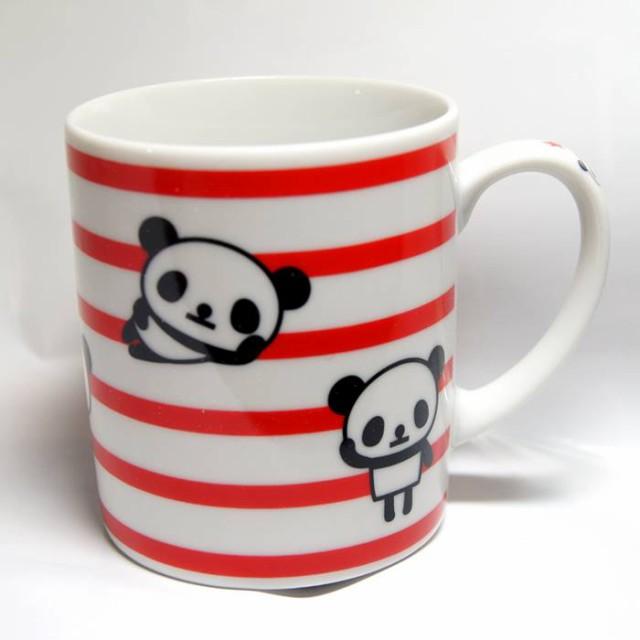 パンダ 磁器製マグカップ 【JNT007-D】