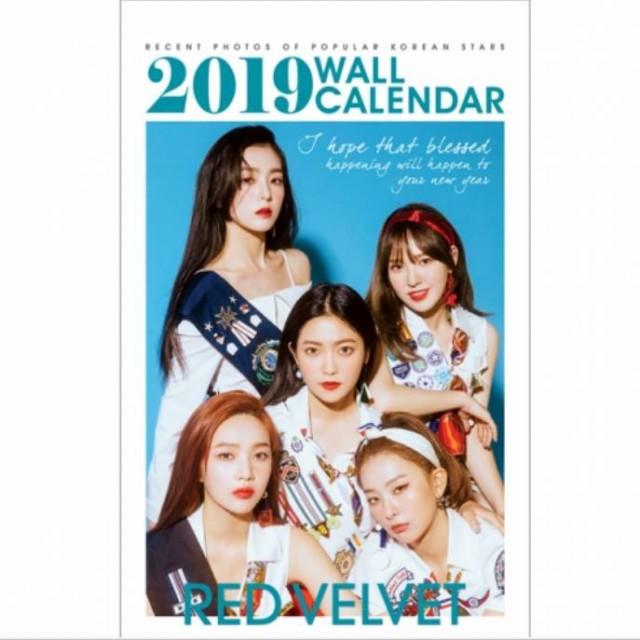 RED VELVET レッドベルベット 2019年壁掛けカレン...