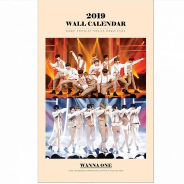 WANNA ONE ワナワン 2019年壁掛けカレンダー K-ST...