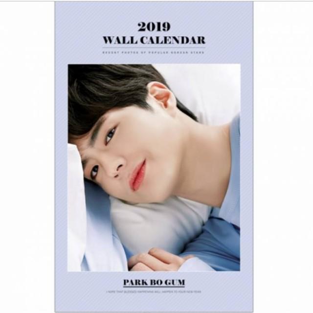 パクボゴム PARK BOGUM 2019年壁掛けカレンダー K...