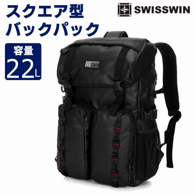 e3aaaf8fb06b SWISSWIN バックパック   リュック メンズ スクエアリュック リュックサック ビジネスリュック バッグ デイパック ビジネス SWF1709