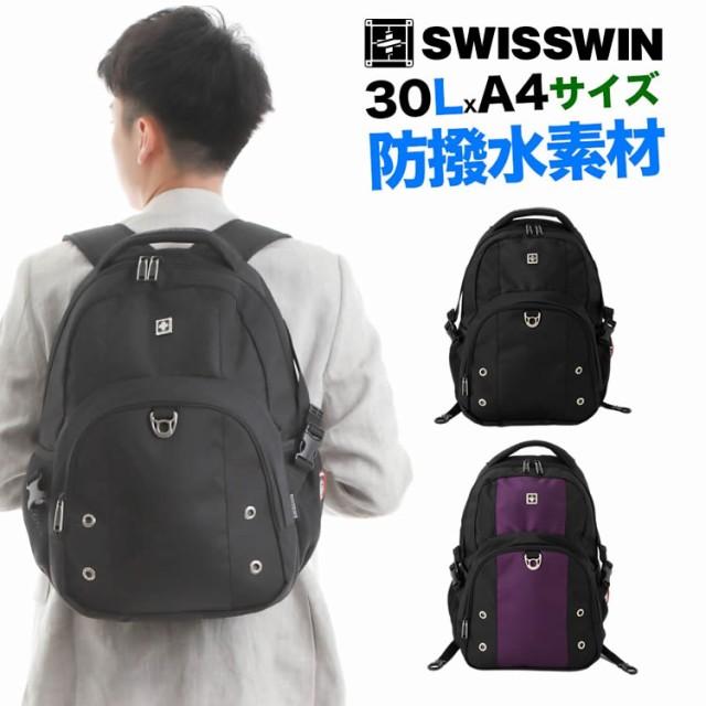 SWISSWIN SW9032 リュックバックパック メンズ レ...