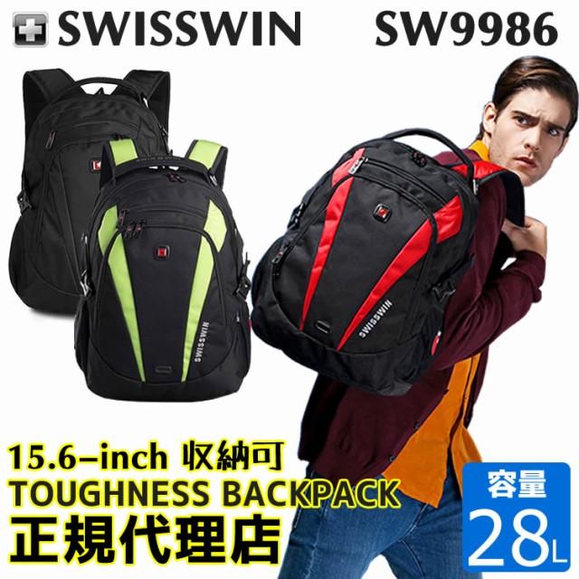 SWISSWIN SW9986 バックパック  メンズ レディー...