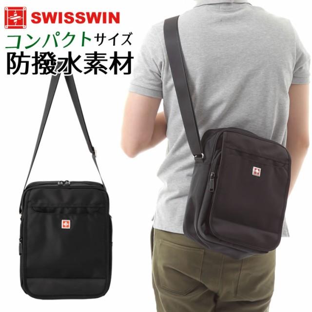 SWISSWIN SW9006 ショルダーバッグ メンズバッグ ...
