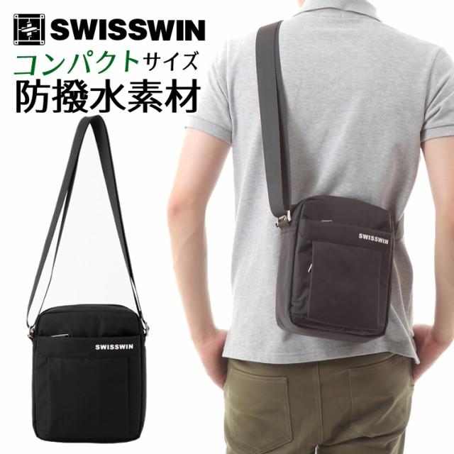 SWISSWIN SW5052V ショルダーバッグ メンズバッグ...