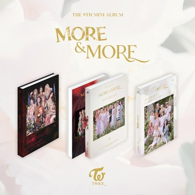 【CD】 TWICE / 9th Mini Album:  MORE  &  MORE ...
