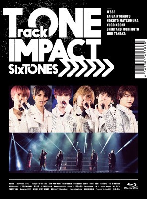 【Blu-ray】初回限定盤 SixTONES / TrackONE -IMP...