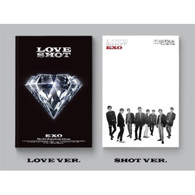 【CD】 EXO / 5集 Repackage:  LOVE SHOT (ランダ...