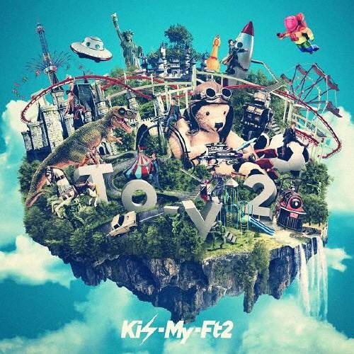 [枚数限定][限定盤]To-y2(初回盤A)/Kis-My-Ft2[CD...