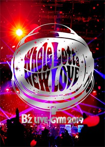 B'z LIVE-GYM 2019 -Whole Lotta NEW LOVE-【DVD...