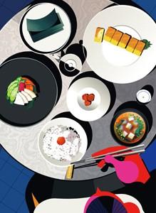 [枚数限定][限定盤]ごはん味噌汁海苔お漬物卵焼き...