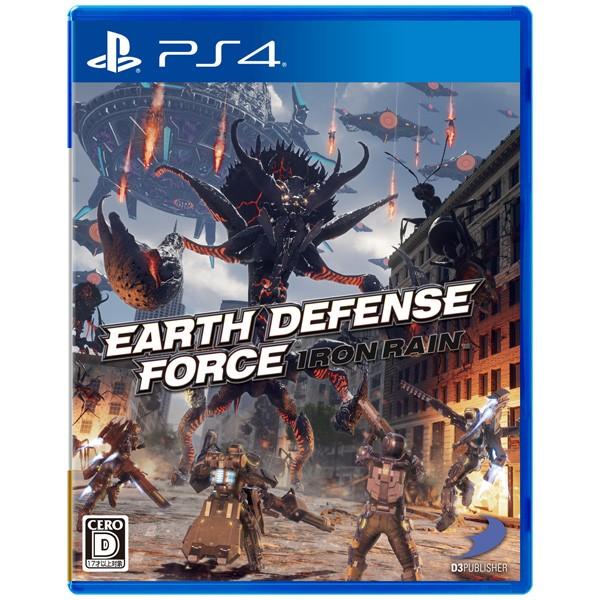 【PS4】EARTH DEFENSE FORCE:IRON RAIN【返品種...