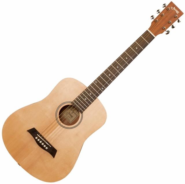 S.Yairi(ヤイリ) ミニエレクトリックアコースティックギター(ナチュラル) Compact-Acoustic シリーズ YM-02E/NTL【返品種別A】