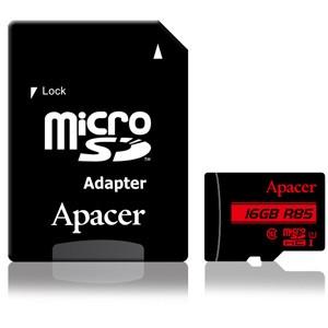 Apacer(アペイサー) AP16GMCSH10U5-R microSDHC...