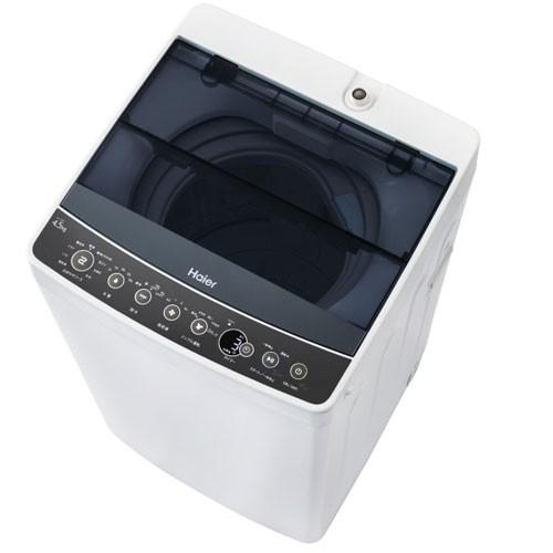 ハイアール JW-C45A-K 4.5kg 全自動洗濯機 ブラックHaier[JWC45AK]【返品種別A】