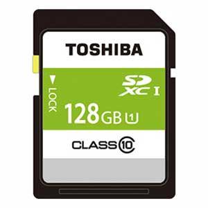 東芝 SDAR40N128G SDXCメモリカード 128GB Class1...
