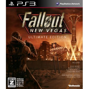 【PS3】Fallout: New Vegas Ultimate Edition(フォールアウト:ニューベガス アルティメットエディション) BLJM-60449【返品種別B】