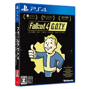 【PS4】Fallout 4: Game of the Year Edition PLJ...