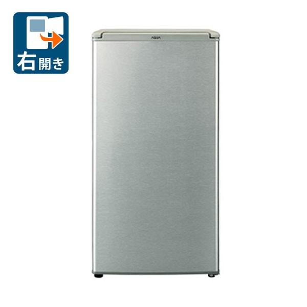 アクア AQR-8G-S 75L 1ドア冷蔵庫(直冷式)ブラッシュシルバー【右開き】AQUA[AQR8GS]【返品種別A】