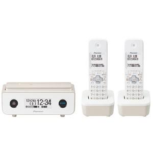 パイオニア TF-FD35T(TY) デジタルコードレス留守番電話機(子機2台)マロンPioneer TF-FD35シリーズ[TFFD35TTY]【返品種別A】