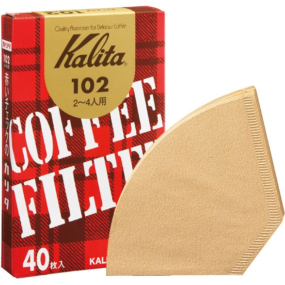 カリタ #13143 コーヒーフィルター102濾紙 40枚...