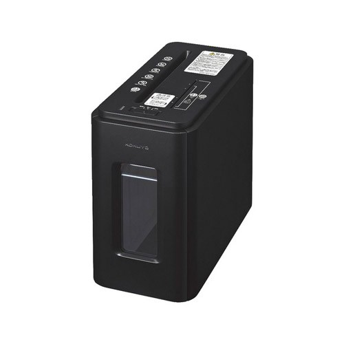 コクヨ KPS-MX100D デスクサイドマルチシュレッダー(アーバンブラック)KOKUYO Silent-Duo[KPSMX100D]【返品種別A】