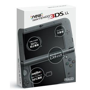 Newニンテンドー3DS LL本体 メタリックブラック...