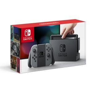 Nintendo Switch 本体【Joy-Con(L)/(R) グレー】 ...