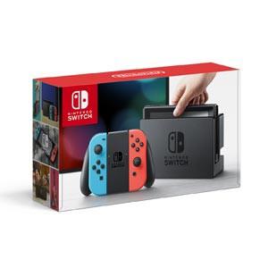 Nintendo Switch 本体【Joy-Con(L) ネオンブルー/...