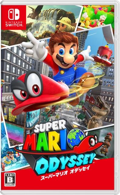 【Nintendo Switch】スーパーマリオ オデッセイス...