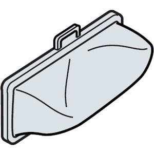 日立 NET-KD8GX 洗濯機用 下部糸くずフィルター(2...
