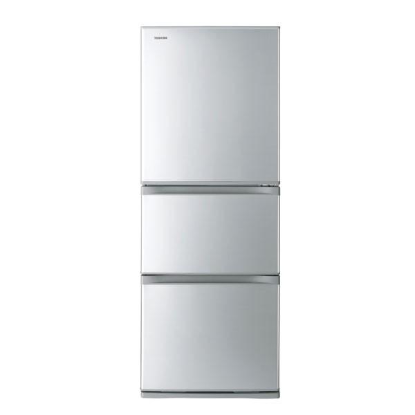 【感謝P10倍】東芝 GR-M33S-S 330L 3ドア冷蔵庫(シルバー)【右開き】TOSHIBA VEGETA(ベジータ)[