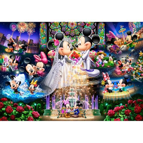 テンヨー ディズニー 永遠の誓い〜ウエディング ドリーム〜 500ピースジグソーパズル 【返品種別B】