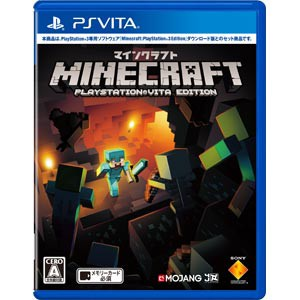 【PS Vita】Minecraft: PlayStation(R)Vita Edi...