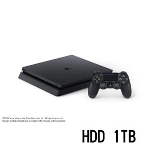 PlayStation 4 ジェット・ブラック 1TB【お一人様...
