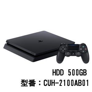 PlayStation 4 ジェット・ブラック 500GB【お一人...