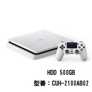 PlayStation 4 グレイシャー・ホワイト 500GB【お...