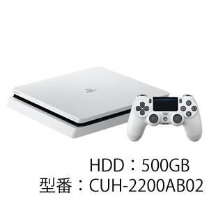 PlayStation 4 グレイシャー・ホワイト 500GB【返...