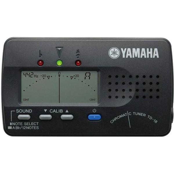 ヤマハ TD-18BK クロマチックチューナー (ブラック)YAMAHA[TD18BKヤマハ]【返品種別A】