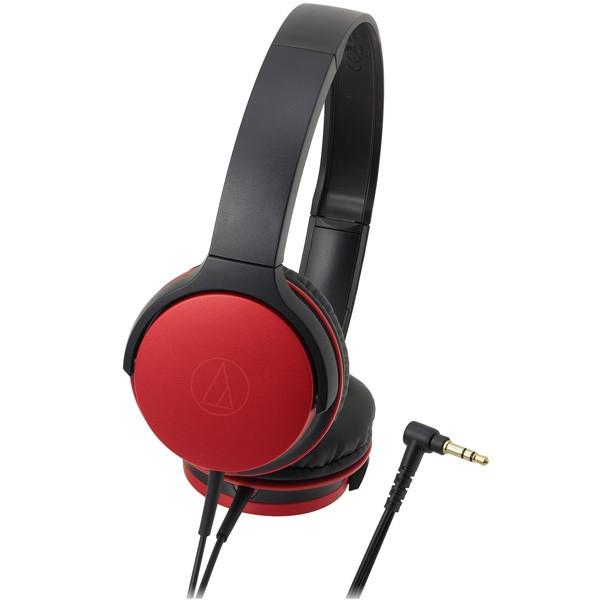 オーディオテクニカ ダイナミック密閉型ヘッドホン(メタリックレッド) audio-technica ポータブルヘッドホン ATH-AR1-RD【返品種別A】