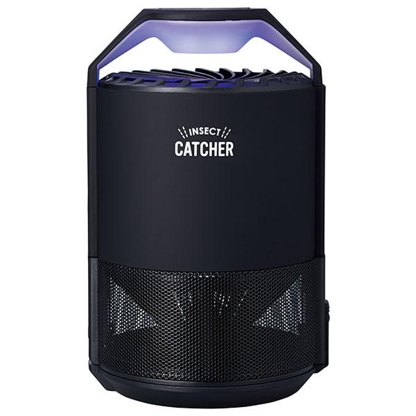 アピックス AIC-90L-BK LED蚊取り捕虫器(ブラック)APIX[AIC90LBK]【返品種別A】