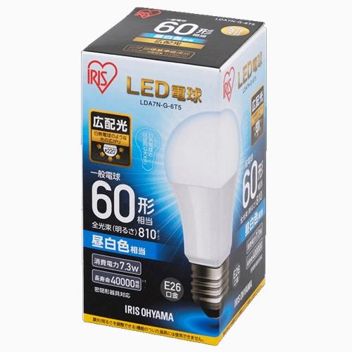 アイリスオーヤマ LDA7N-G-6T5 LED電球 一般電球...