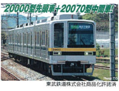 マイクロエース (N) A7974 東武20400型 (20420番...