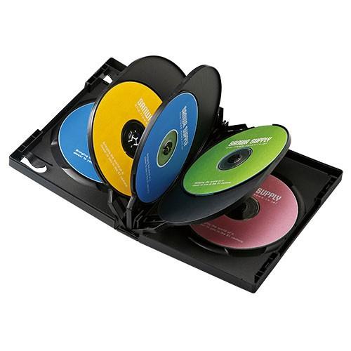 サンワサプライ DVD-TW8-01BK DVDトールケース(8...