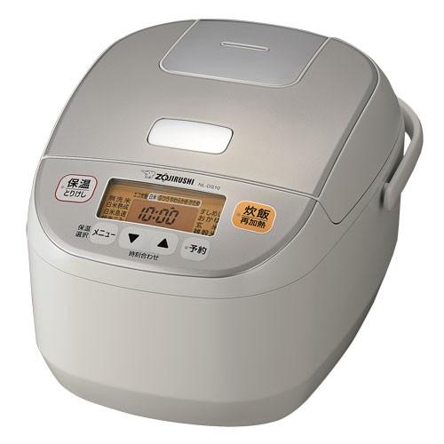 象印 NL-DS10-WA マイコン炊飯ジャー(5.5合炊き) ホワイトZOJIRUSHI[NLDS10WA] 返品種別A