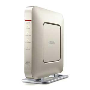 バッファロー WSR-2533DHP-CG 11ac対応 1733+800Mbps  無線LANルータ(シャンパンゴールド)(親機単体)[WSR2533DHPCG]【返品種別A】